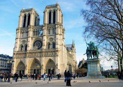 Laurent at Notre Dame, Paris