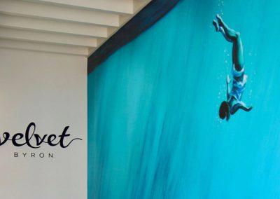 Commercial shop fitting for Velvet Cafe, Byron Bay