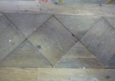 parquet of disassembled versailles floor