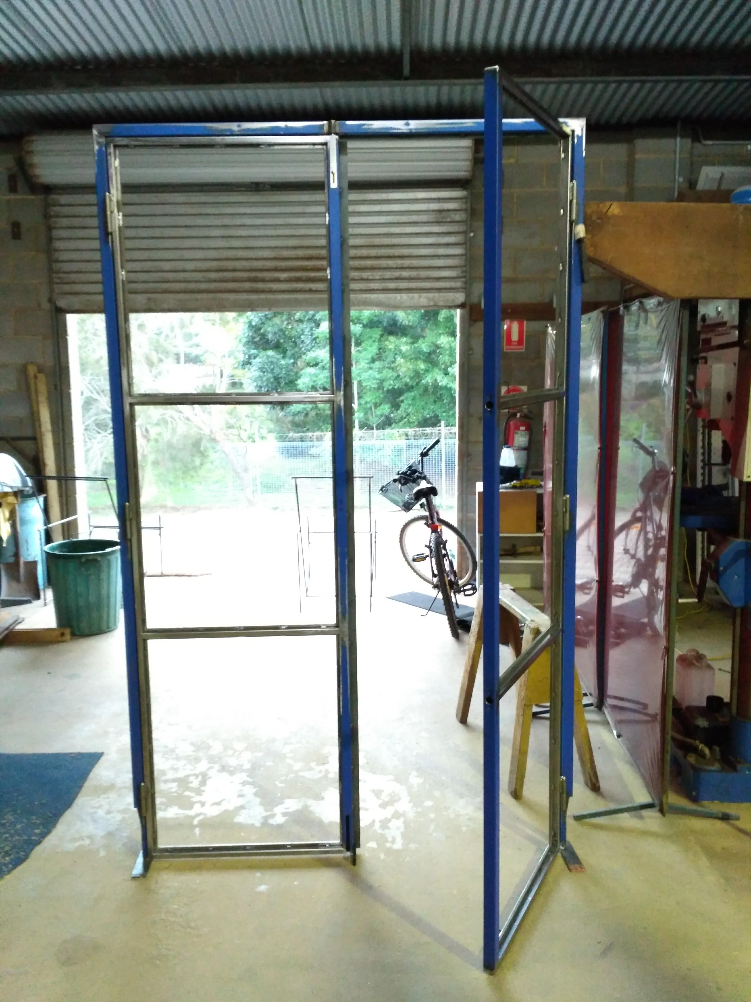 steel-glass-industrial-doors-bangalow-being-made