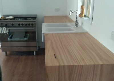 Compact blackbutt kitchen