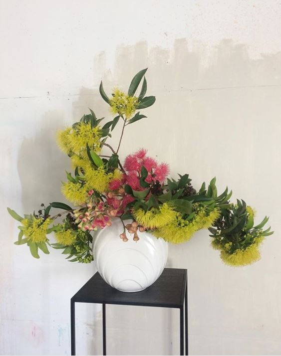 Braer floral display plinths