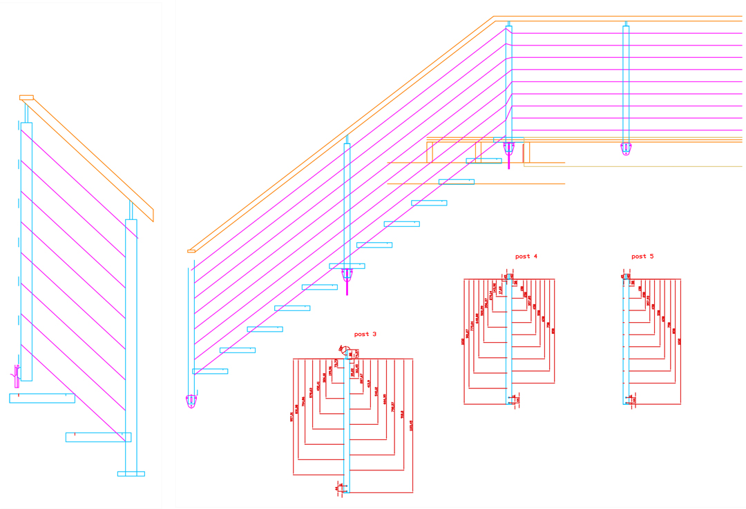 Plans for Stairs