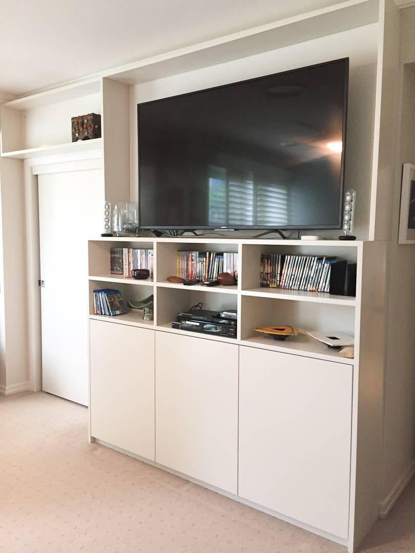 TV cabinet for private apartments royal pines gold coast (2)