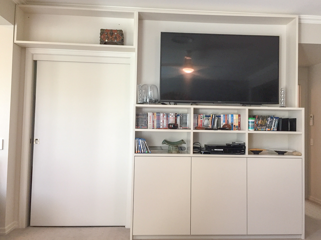 TV cabinet for private apartments royal pines gold coast (7)
