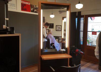 Frankie God of Hair has a new shop!
