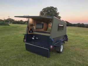 custom camper trailer project