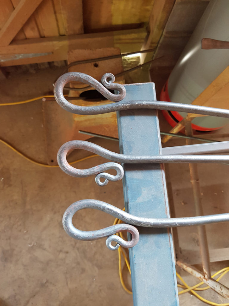 hand forged Curtain accessories Softly Furnished Lily van Heeckeren byron bay nsw